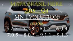 Mapa do Brasil 2019_Q4 para atualização GPS media nav Renault Evolution