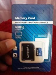 CARTÃO DE MEMÓRIA 32 GB NOVO MICRO SD