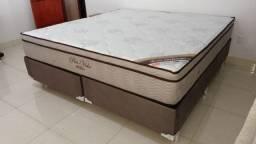 Cama Cama Box + Colchao Pro-Vida Ortobom Queen Size 158x198 Melhor Preço Confira