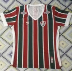 Camisa Dryworld Fluminense I 2016 Feminina - EG