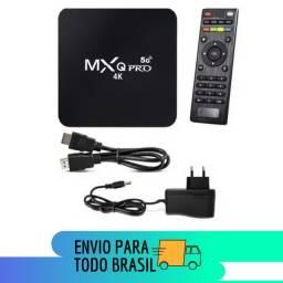 Conversor TV Box MXQ 4K PRO - Transforme sua TV em SmartTV - 4K - WI-FI