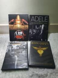 24 Dvds de Musica quase sem uso