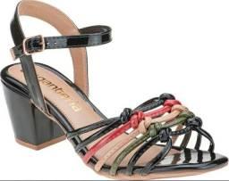 Sandalia de Salto Preta- Araguari Mg