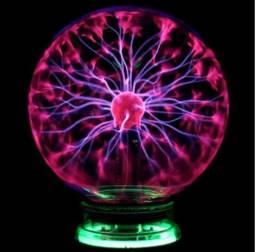 Globo de plasma com efeito