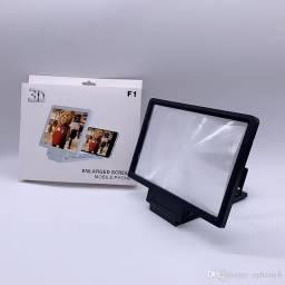 lupa HD 3D prova telefone celular radiação amplificador de tela 3D amplificador