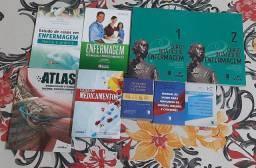 Kit de Livros Técnicos de Enfermagem