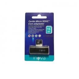 Cartão Micro SD Com Adaptador Inova TF Card-8572