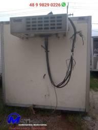 Baú frigorifico 5.50m Sem máquina de refrigeração Mathias implementos