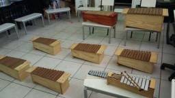 Xilofones Orff instrumento musical