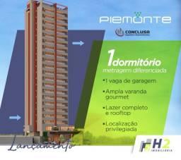 Residencial Piemonte - Lançamento: Apto 1 dormitório na Vila Universitária