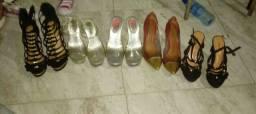 Sandalias 15 reais cada