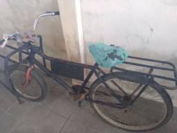 Bicicleta de carga sem descanto