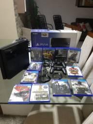 PS4 semi novo com nota fiscal