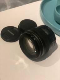 Lente 85mm 1.8 Canon (VENDA OU TROCA)