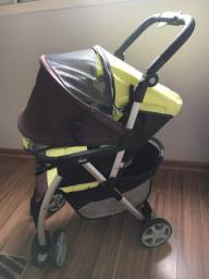 Vendo carrinho de bebê chicco varias funções