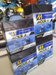 Bateria moura para motos fan titan factor cb300 entregamos em todo rio