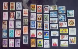Selos Novos Decada de 60 e 70 - stampHouse