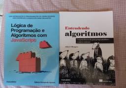 Livros de Programação (algoritmos e Javascript)