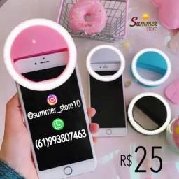 Selfie Ring Light: Luz De Selfie Para Celular