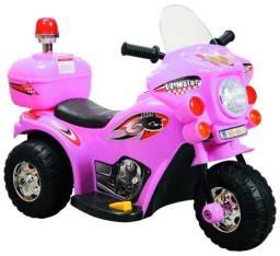 Mini Moto Elétrica Infantil Triciclo Criança Bateria 7,5V