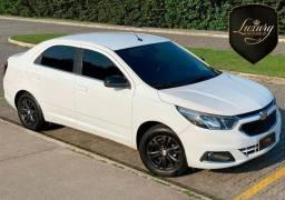Chevrolet Cobalt 2018/2018 1.8 LTZ Automático+GNV & Couro Marron
