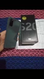 Vendo Samsung S20 ou troco em celular inferior com volta