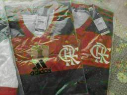 Camisas do flamengo originais tamanhos G e GG com patchs da Conmebol libertadores