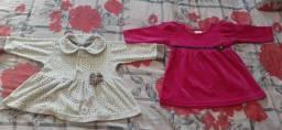 Lote roupa bb menina 0 meses a 1 ano