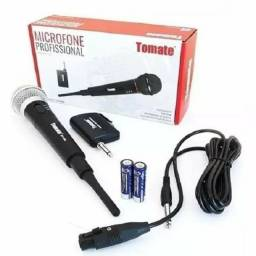 Microfone Sem Fio Profissional Tomate (entrega grátis)