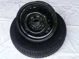 Rodas aro 13 com pneus bons