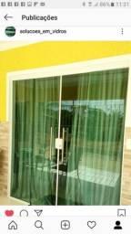 Porta de Vidro Blindex  NOVA 10mm