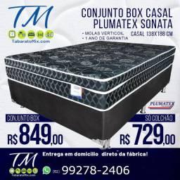 Base + Colchão Confortável Com Molas Por Apenas R$849!!