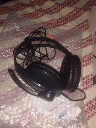 Vendo ou troco Head set mais placa de áudio por web cam