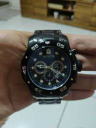 Relógio Invicta Pro Diver 0076 Collection Chronograph Preto