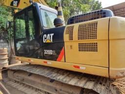 Escavadeira Hidráulica Caterpillar 320 D2l Ano 2016 Cat