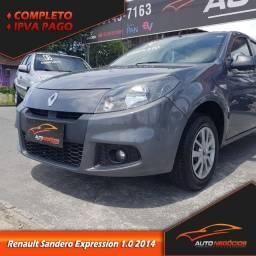 Renault Sandero Expression 1.0 2014