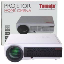 DataShow Tomate Home Cinema 3000 Lúmens Hdmi Vga Usb Avi