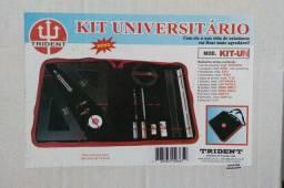 Maleta de desenho técnico. Kit Universitário Trident