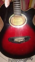 Vendo ou troco violão giannini