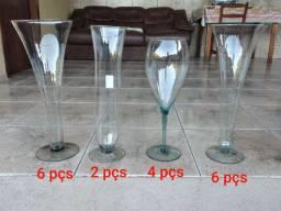 Vasos De Vidro para Decoração