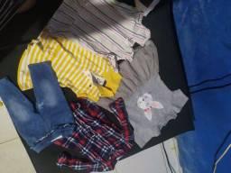 Super combo roupas e calçados