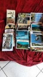 Cartões postais nacionais e internacionais e cartões de natal