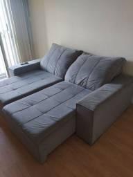 Sofa retrátil e inclinável grande