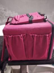 bolsa terminca cor rosa