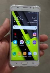 Samsung J7 Prime 32Gigas Biometria Flash Frontal Extra Todo Original