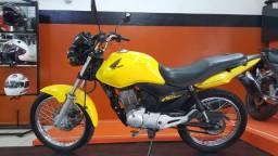 Honda CG 150 Fan Esdi 2013 amarela