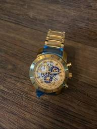 Lindo Relógio Bvlgari Dourado ( Novo )