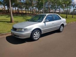 Corolla 2000 XEI câmbio manual raridade