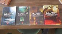 4 Livros da saga Game of Thrones