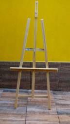 Cavalete de pintura de chão